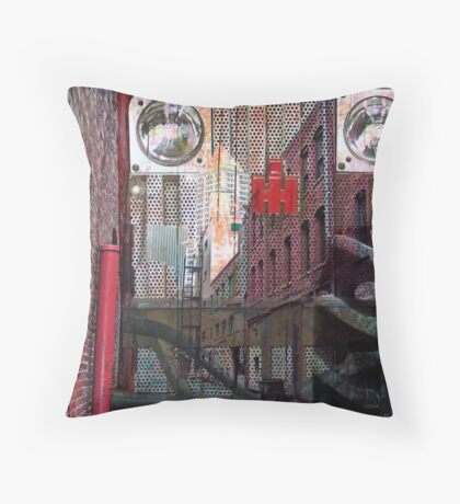 Rural Urban Throw Pillow
