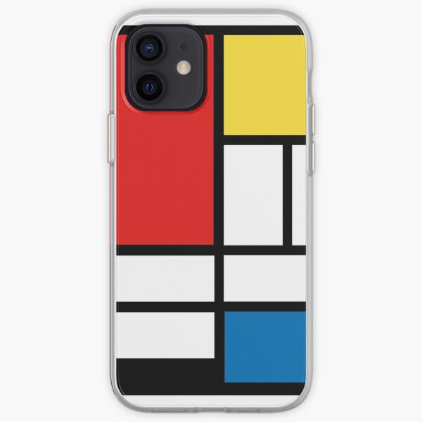 Mon Mondrian Coque souple iPhone