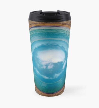 Skybeach marble Travel Mug