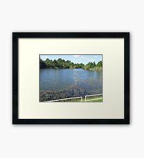 River: Myrtle Beach, South Carolina Framed Print