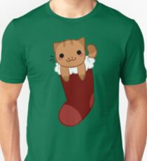 Cat in a Stocking T-Shirt