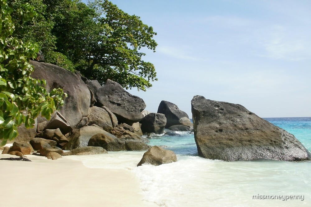 Similan Island solitude by missmoneypenny