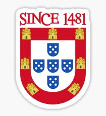 PORTUGAL-SINCE1481 Sticker