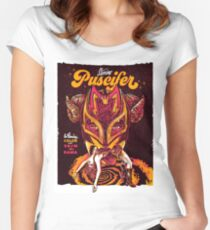 Boston Puscifer Artwork Women's Fitted Scoop T-Shirt