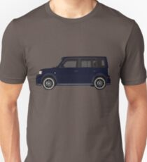 Vectored Boxcar Dark Blue T-Shirt