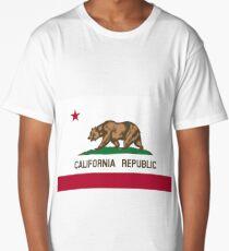 California Flag Long T-Shirt