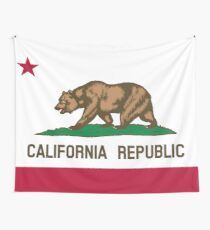 California Flag Wall Tapestry