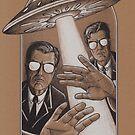 UFO von Diane LeonardArt
