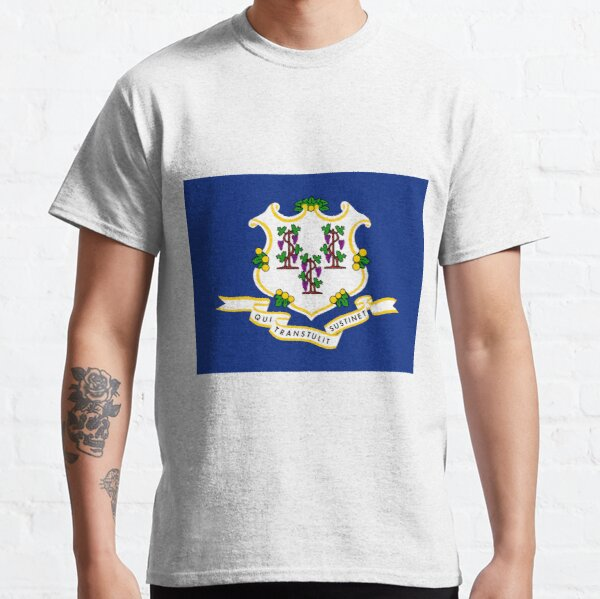 Connecticut Flag Classic T-Shirt