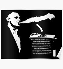 Jordan B Peterson - Motivational Vape Hit Poster