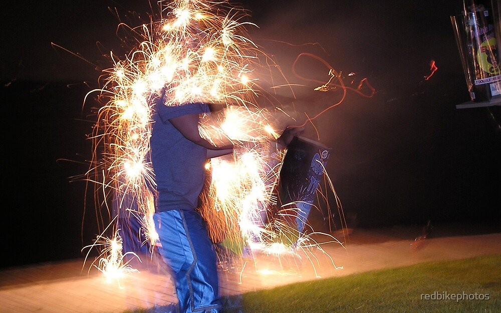 sparks by redbikephotos