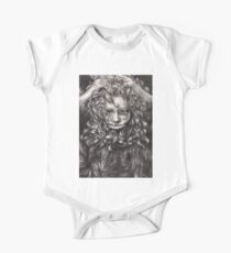 girl, invisible monsters Palahniuk, horror, face, dark, eyes One Piece - Short Sleeve
