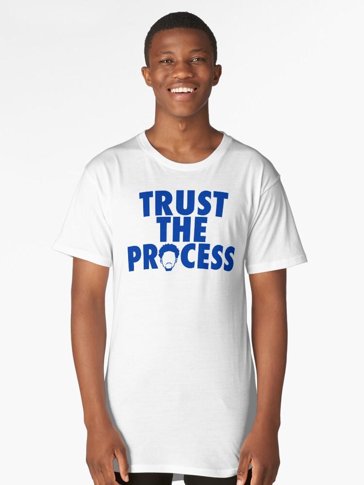 Trust The Process 2 Long T-Shirt Front