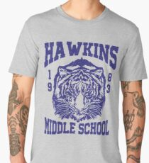 Hawkins Middle School (mugs, shirts, and more merch) Men's Premium T-Shirt