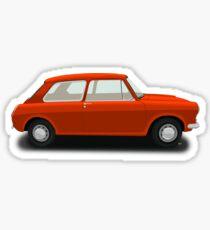 Austin Morris 1100 1300 - Orange Sticker