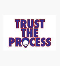 Trust The Process 4 Photographic Print