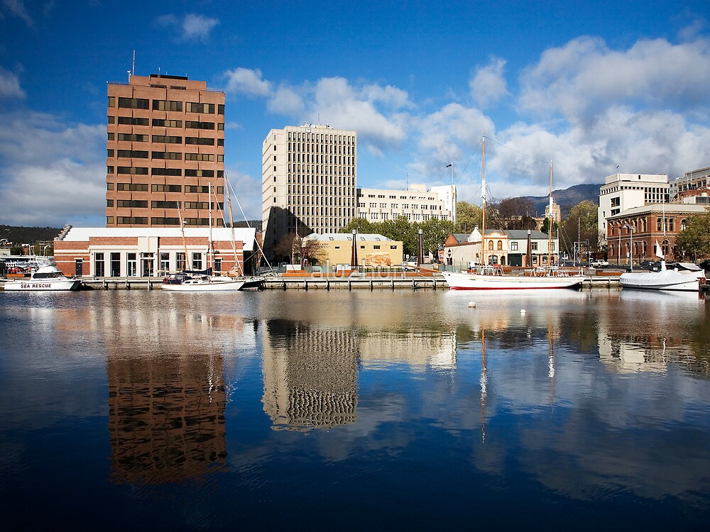 Reflections of Hobart1 by aluzhun