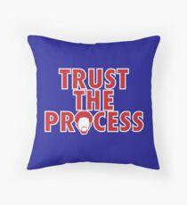 Trust The Process 5 Throw Pillow