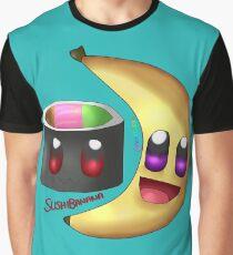 Sushi Banana Graphic T-Shirt