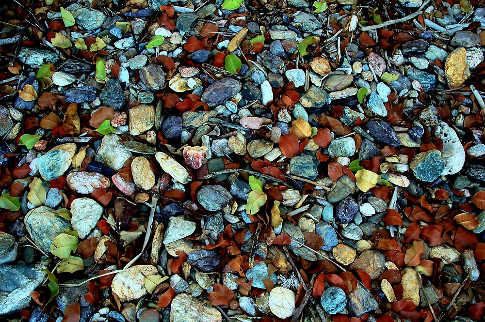 Coloured Rocks by dargan