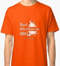 Distressed Red Wheelbarrow BBQ Classic T-Shirt
