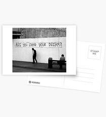 Living (in mono) Postkarten