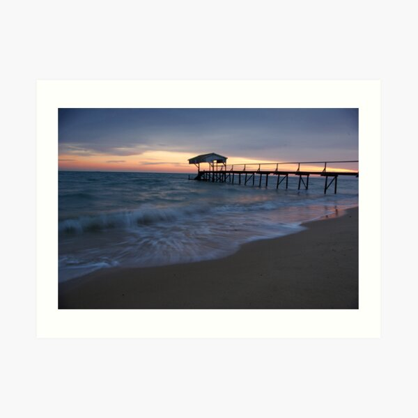 Tideways Jetty Sorrento Art Print
