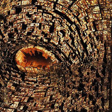 Eye on the city by FrogFaith