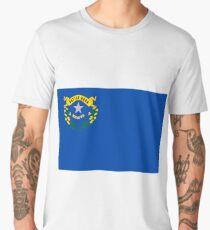 Nevada Flag Men's Premium T-Shirt