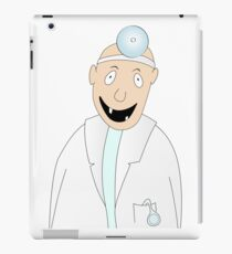 happy dentist iPad Case/Skin