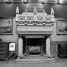 Ornate Fireplace. by Livvy Young