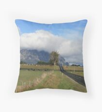 Mt Roland Throw Pillow