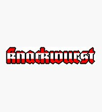 knackwurst Photographic Print