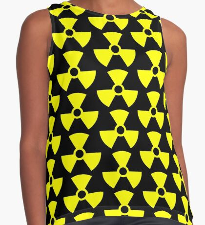 Warning Radiation T Sleeveless Top