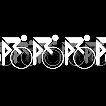 The Bicycle Race 2 White by learningcurveca