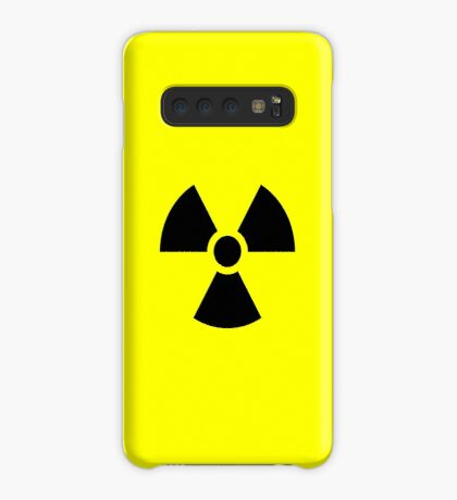 Warning Ionizing Radiation Case/Skin for Samsung Galaxy