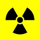 Warning Ionizing Radiation by Rupert Russell