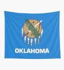 Oklahoma-Flagge Wandbehang