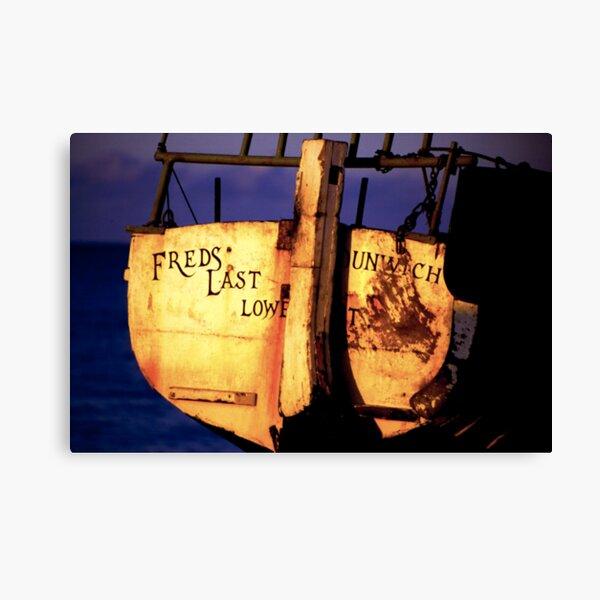 Fred's Last - Dunwich, Suffolk Canvas Print