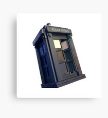 Lego TARDIS Canvas Print