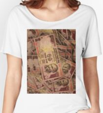 50 RUPEE NOTES Women's Relaxed Fit T-Shirt
