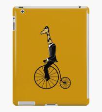 Penny-farthing Giraffe iPad Case/Skin