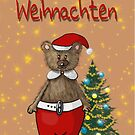 Teddy Christmas von Edith Handelsmann