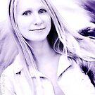 Gentle Violet by artsphotoshop