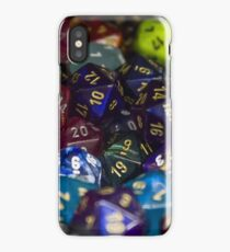 D&D Dice Rainbow iPhone Case/Skin