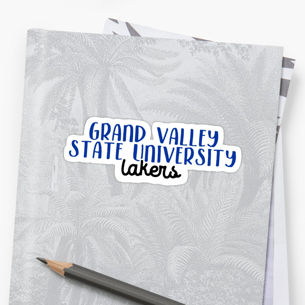 Grand Valley State University Sticker Front