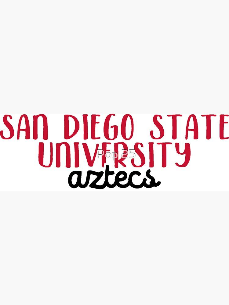 San Diego State University by pop25