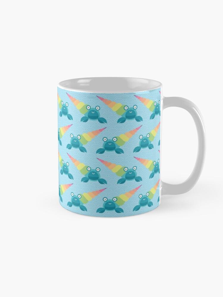 Alternate view of Rainbow hermit crab Mug
