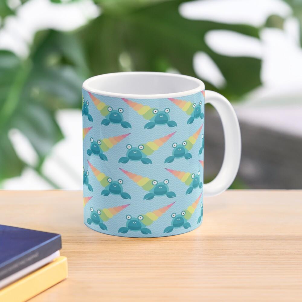 Rainbow hermit crab Mug