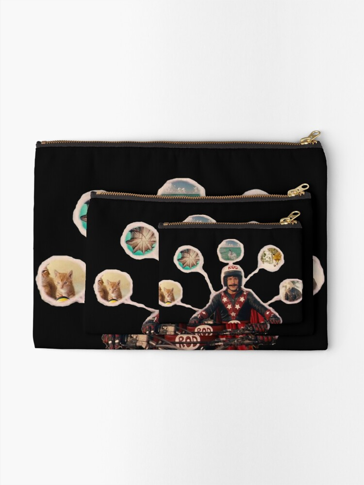 Alternate view of Let's Jump! Zipper Pouch